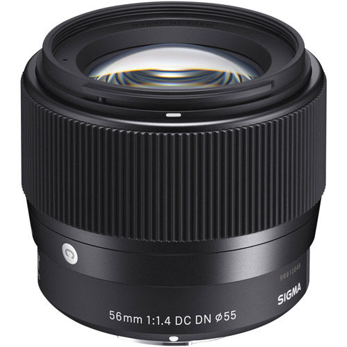 56mm f/1.4 DC DN Contemporary Lens for EF-M Mount