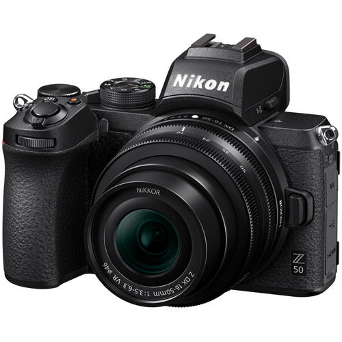 Z50 Mirrorless Kit w/ Z DX 16-50mm f/3.5-6.3 VR Lens