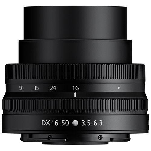 NIKKOR Z DX 16-50mm f/3.5-6.3 VR Lens