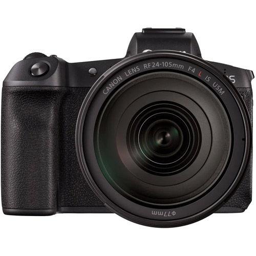 EOS R Full Frame Mirrorless Kit w/RF 24-105 f4 L IS USM Lens w/ Battery Grip BG-E22 for EOS R