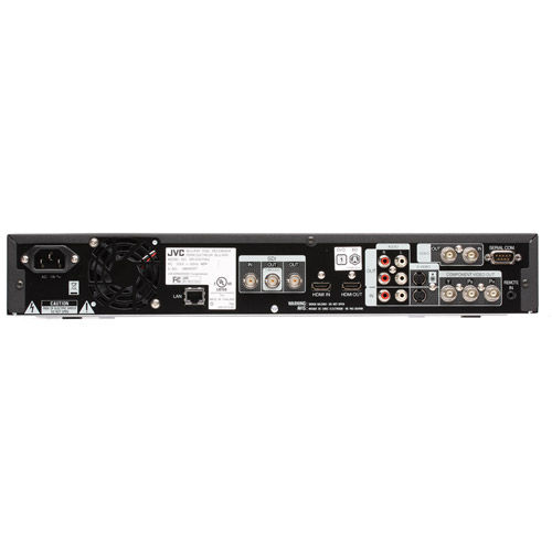 JVC Blu-ray Disc/1TB HDD Recorder w/HDMI & HDSDI