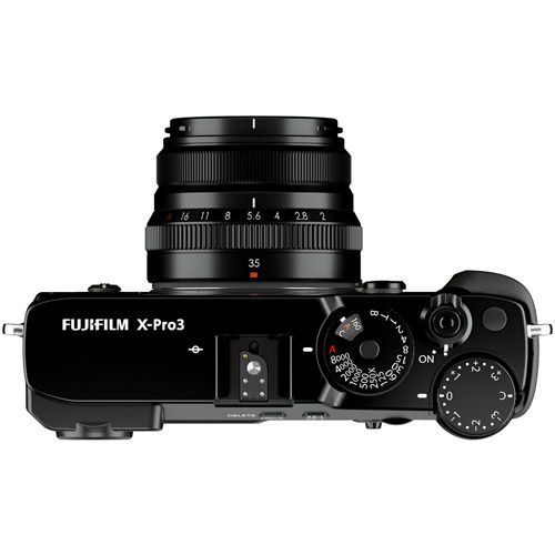 X-Pro3 Mirrorless Body Black