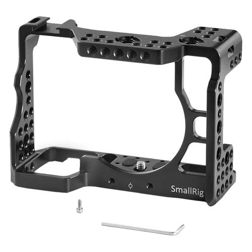 Cage Kit for Sony A7RIII with Quick Release NATO Rail, DSLR Action NATO Handle