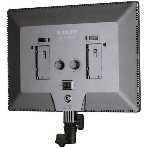 LumiPad 25 Bicolor Slim Soft Light LED Panel 2 Head Kit