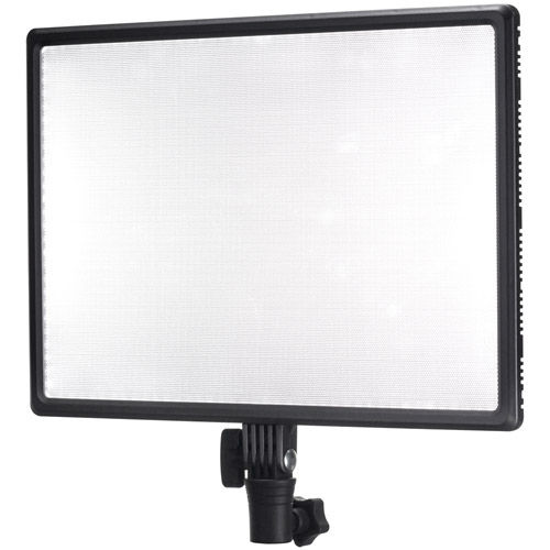LumiPad 25 Bicolor Slim Soft Light LED Panel 2 Head Kit with Battery