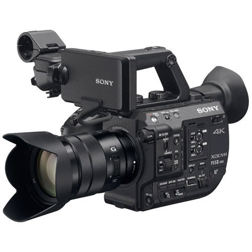 PXW-FS5M2 4K XDCAM Super 35mm Compact Camcorder Bundle w/ ATOMOS Shogun 7 HDR Pro Monitor/Recorder