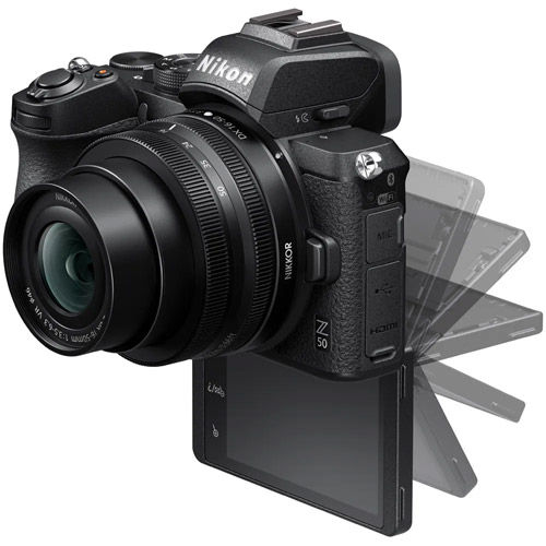 Z50 Mirrorless Kit w/ Z DX 16-50mm & DX 50-250mm Lenses & NIKKOR FTZ Mount Adapter