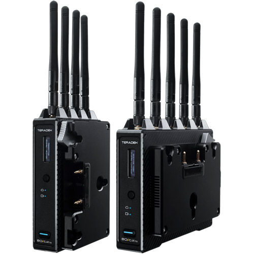 Bolt 4K 750 12G-SDI/HDMI Wireless TX/RX Deluxe Kit (Gold-Mount) -does not include Antenna