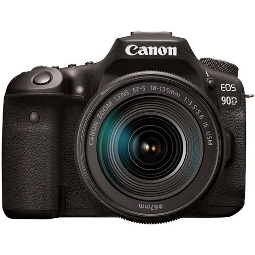 EOS 90D With EF-S18-135mm f/3.5-5.6  Lens With Advanced Accessory Kit