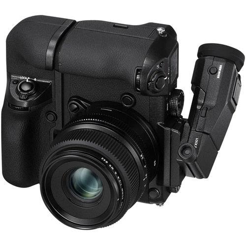 GFX 50s Medium Format Mirrorless Body w/ VG-GFX 1 Vertical Battery Grip