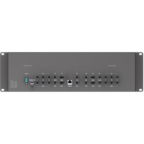 "3RU 7"" Dual Rack Monitor 1280x800 3G-SDI"