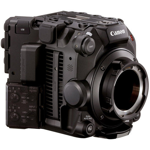 EOS C500 Mark II EF Cinema Camera w/ Bonus 512GB CF Express Card & CF Card Reader