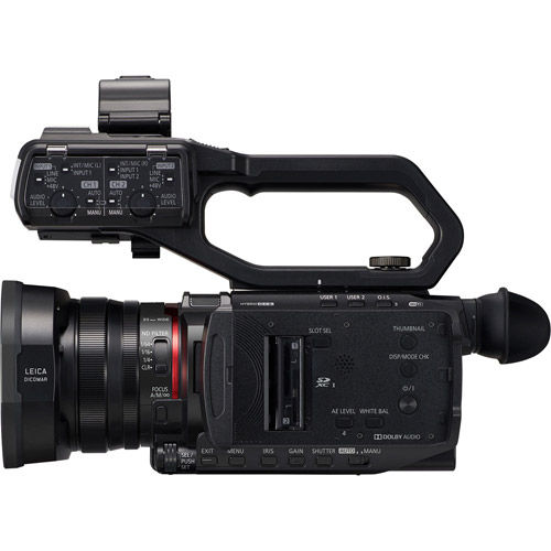 AGCX10 4K 60p Director's Camcorder