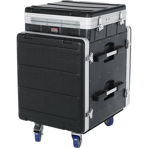 10U Top, 12U Side Console Rack