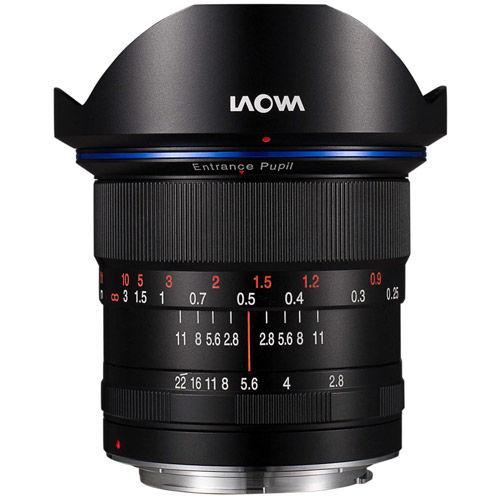 12mm f/2.8 Zero-D Canon RF Mount Manual Focus Lens