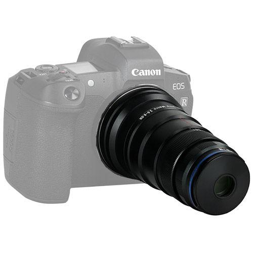 25mm f/2.8 2.5-5x Ultra-Macro Canon RF Mount Manual Focu Lens
