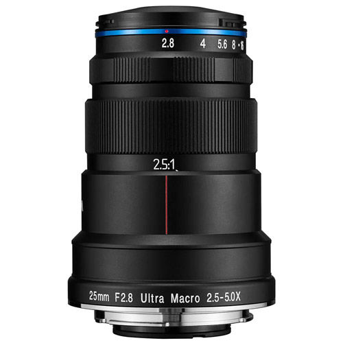 25mm f/2.8 2.5-5x Ultra-Macro Nikon Z Mount Manual Focus Lens