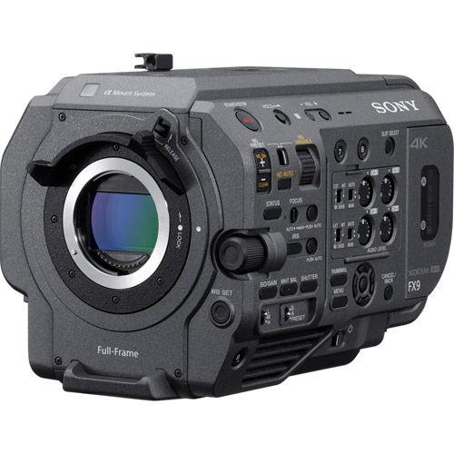 PXW-FX9 XDCAM 6K Full-Frame Camera System with 28-135mm f/4 G OSS Lens