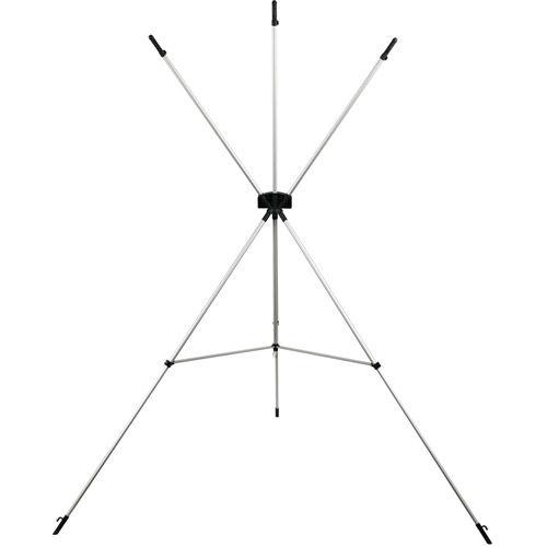 X-Drop Wrinkle-Resistant Backdrop Kit High-Key White Sweep (5' x 12')