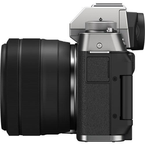 X-T200 Mirrorless Kit Silver w/ XC 15-45mm f/3.5-5.6 OIS PZ Lens