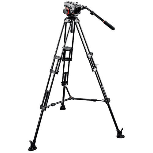 504HD Head w/ 546B 2 Stage Aluminum Tripod System w/ 244MICRO Variable Friction Arm