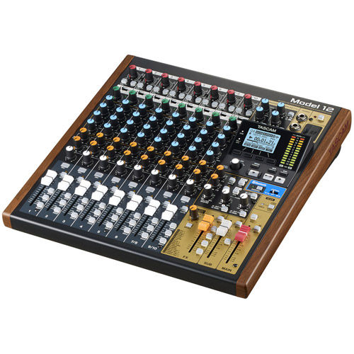 MODEL 12 Integrated Production Suite Mixer/ Recorder and USB Audio Interface