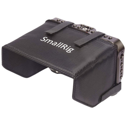 "Cage with Sun Hood for SmallHD Focus 5"" HDMI/SDI Monitor"