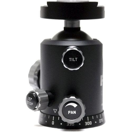 CB-48FTR Centerball 48 Friction Tilt + 15° Stop Mark II w/FLM SRB-60 Clamp