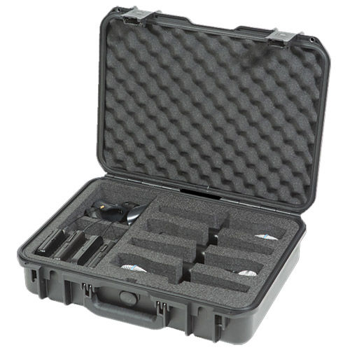 Waterproof Wireless Four Microphone Case