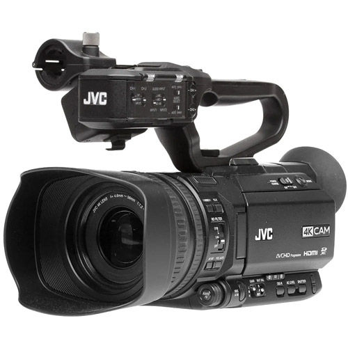 GY-HM180U 4KCam Compact Handheld Camcorder w/ Integrated 12X Lens,  Free QAN0067-003,BN-S882