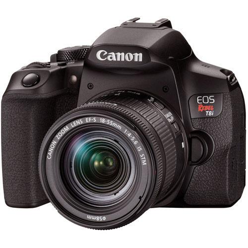 EOS Rebel T8i Kit with EF-S 18-55mm F4-5.6 IS STM Lens