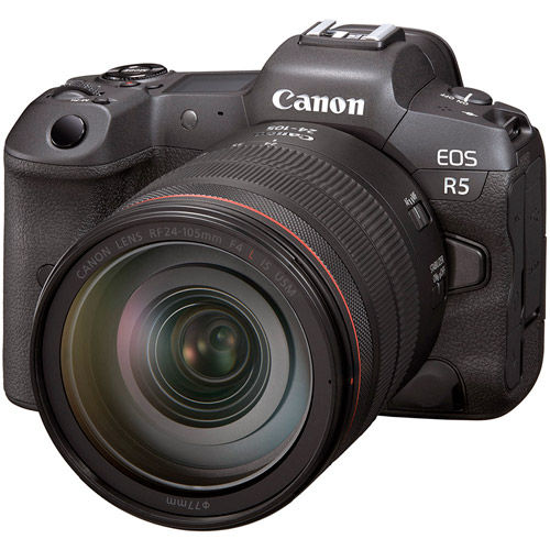 EOS R5 Full Frame Mirrorless Camera Body