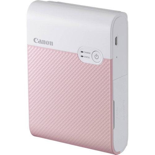 SELPHY Square QX10 Compact Photo Printer (Pink)