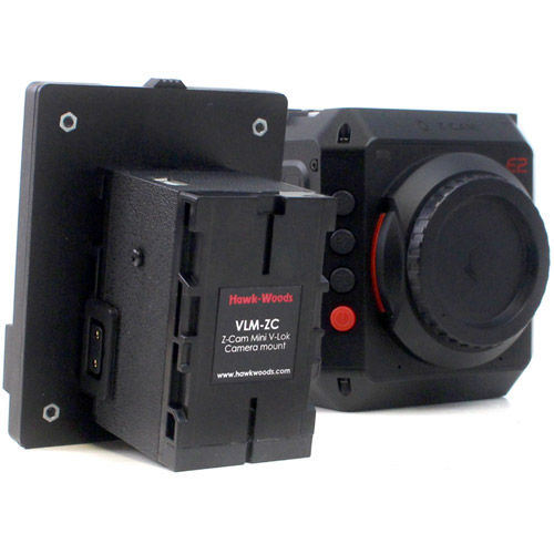 Z-Cam Mini V-Lok Camera mount 1x D-Tap, 1x USB