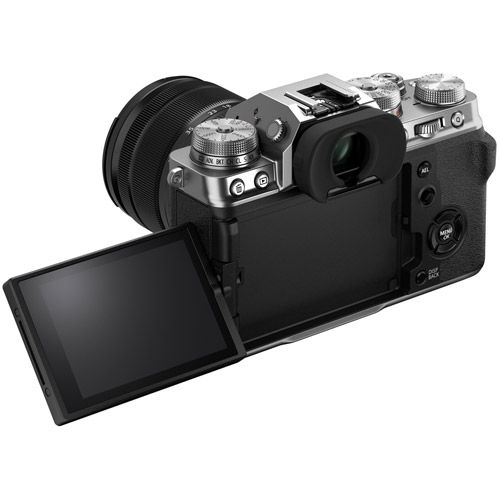 X-T4 Mirrorless Body Silver