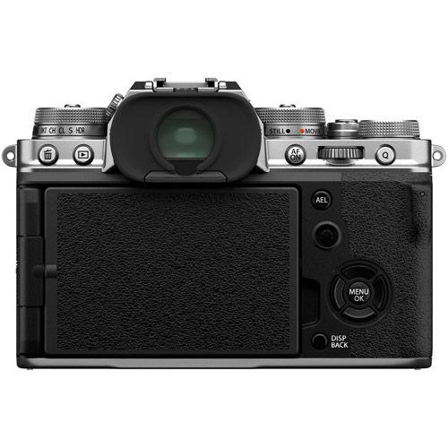 X-T4 Mirrorless Kit Silver w/ XF 16-80mm f/4 R OIS WR Lens
