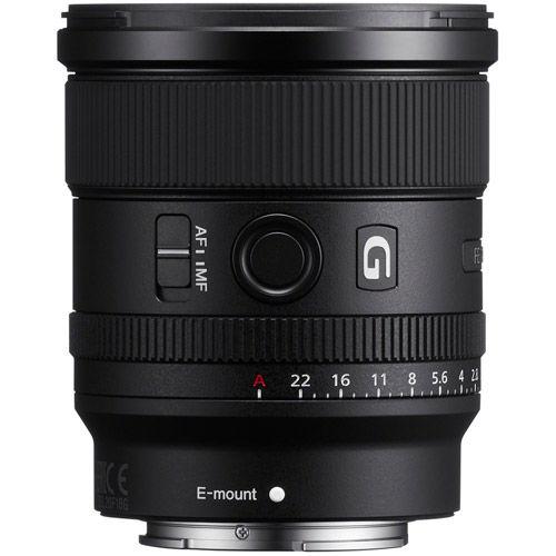 SEL FE 20mm f/1.8 G E-Mount Lens