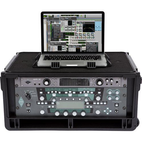 1SKB-iSF4U Injection Molded 4U Studio Flyer Rack Case