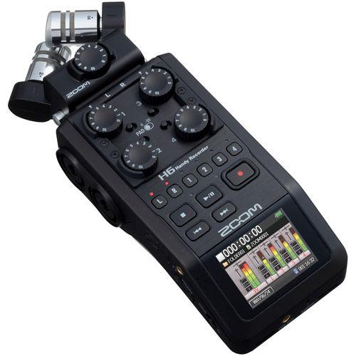 H6 Handy Recorder All Black