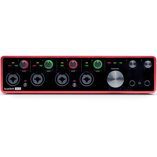 Scarlett 18i8 USB 2.0 Audio Interface (3rd Generation)