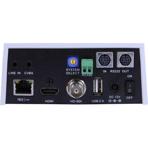 30X-NDI Broadcast and Conference Camera (White)