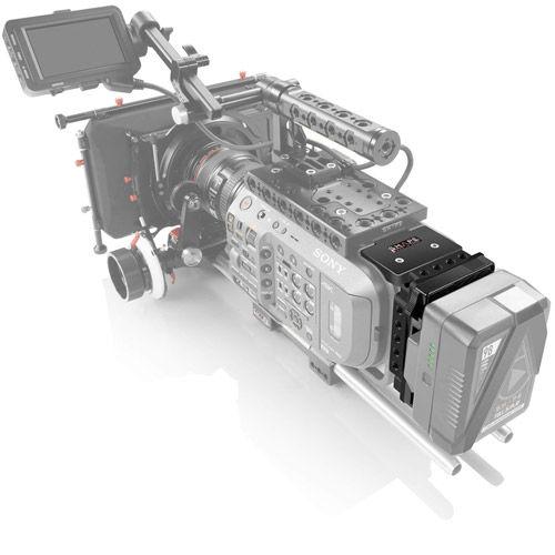 V-Mount Pivoting Battery Plate for Sony FX9
