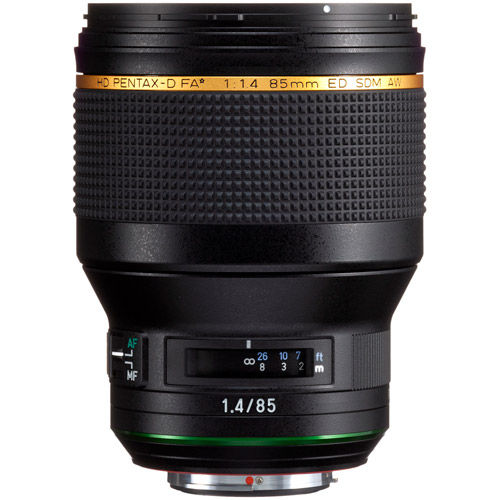 HD Pentax-D FA 85mm f/1.4 ED SDM AW Lens