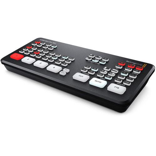 ATEM Mini Pro ISO HDMI Live Stream Switcher