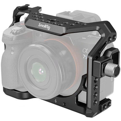 Cage for Sony A7S III Camera and HDMI Cable Clamp