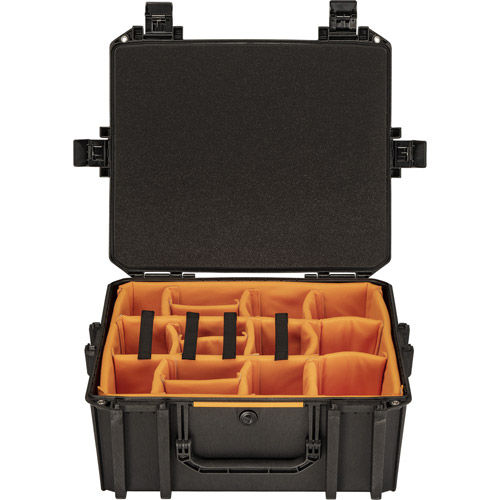 Vault V600 Photo Case w/ Padded Dividers - Black