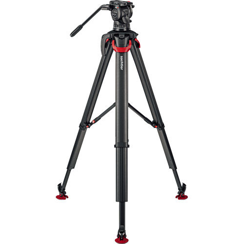 aktiv10 Fluid Head (S2072S) + Tripod Flowtech100 with Mid-Level Spreader and Padded Bag ENG