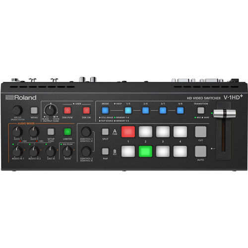 V-1HD-PLUS  Compact Portable 4-Channel Video Switcher