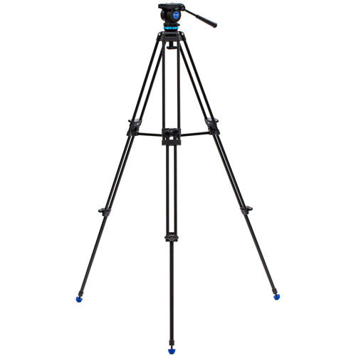 KH25P Dual-Tube 3-Section Aluminum Video Tripod Kit