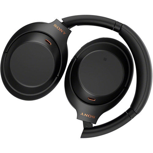 Wireless Noise-Canceling Over-Ear Headphones (Black)